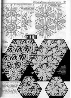 "Photo from album ""Дуплет on Yandex. Russian Crochet, Form Crochet, Crochet Diagram, Crochet Chart, Thread Crochet, Irish Crochet, Crochet Motif, Crochet Doilies, Crochet Flowers"