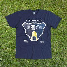 Great Smoky Mountains National Park T-Shirt by Matt Brass   Creative Action Network