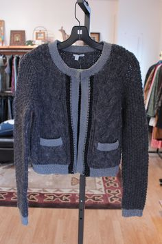 Halogen Chunky Cardigan Sweater
