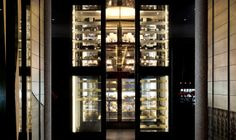 The cheese cellar at The Restaurant at The Chedi Andermatt, Swiss Alps, Switzerland