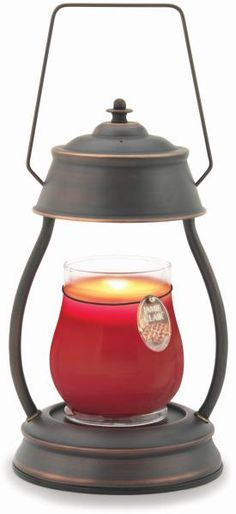 I love my Hurricane Candle Warmer Lantern, especially with a cinnamon vanilla candle!  Mmmm....