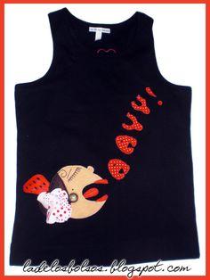 camisetas pintadas con flamencas - Buscar con Google