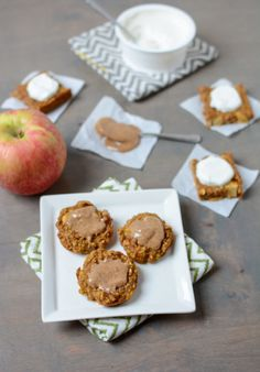 Pumpkin Apple Baked Mini Pancakes