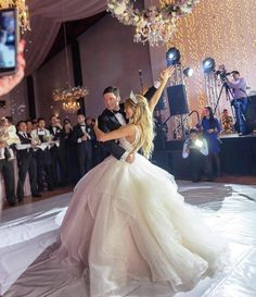 Dancing our way into the weekend like… 💃 Thank you to by for taking over our feed for and sharing your breathtaking wedding gowns! To see more, tap the link in our bio. Luxury Wedding Dress, Princess Wedding Dresses, Bridal Dresses, Wedding Gowns, Dream Wedding, Flower Girl Dresses, Cinderella Ballgown, Unusual Dresses, Strictly Weddings