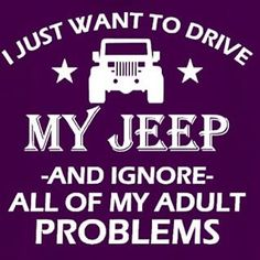 I just want to drive my Jeep YJ Hoodie by PYbM on Etsy Jeep Wrangler Accessories, Jeep Accessories, Jeep Cars, Jeep Truck, Jeep Quotes, Jeep Tj, Cool Jeeps, Jeep Wrangler Unlimited, Jeep Cherokee