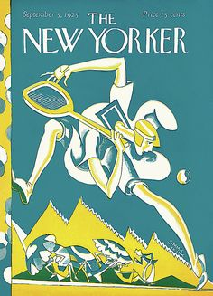 FB / -The New Yorker Mag.Cover September 1925 - by James Daugherty (aka Jimmie-the-Ink) The New Yorker, New Yorker Covers, Tennis Posters, Thing 1, Wall Art For Sale, All Poster, Illustrations Posters, Cover Art, Fine Art America