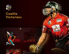 Emran Hossain on Behance Cricket Website, Victorian Men, Sports Website, Photoshop Illustrator, Website Design Inspiration, New Work, Web Design, Behance, Club
