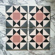 Victorian Flooring, Victorian Tiles, Victorian Fireplace Tiles, Hallway Flooring, Floor Tiles Hallway, Hearth Tiles, Hallway Colours, Victorian Pattern, Doors And Floors