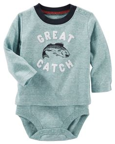 Baby Boy Flocked Double-Decker Snow Yarn Bodysuit from OshKosh B'gosh. Shop clothing & accessories from a trusted name in kids, toddlers, and baby clothes.