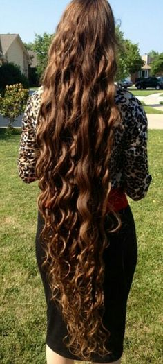 I want my hair to grow this long