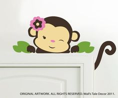 Want this for my little Monkeys room too!