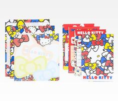 Hello Kitty Letter Set: Colorful