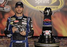 Jimmie Johnson battled it out at Texas for his second consecutive victory in the NASCAR Sprint Cup Series. Don't miss the Raced Win die-cast of Johnson's Texas car! www.lionelnascar.com