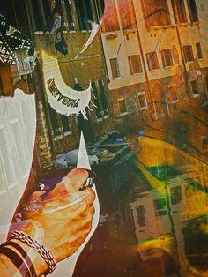 'Painting Venice' von Gabi Hampe bei artflakes.com als Poster oder Kunstdruck $18.03