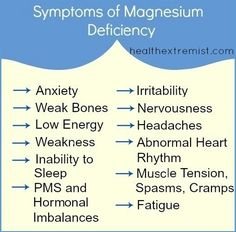 12 Signs Your Health Problems Could Be Magnesium Deficiency Symptoms
