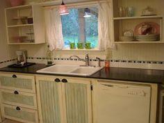 """ The Shabby Creek Cottage "" - Farmhouse & Cottage DIY & Design Blog: Kitchen cabinets"