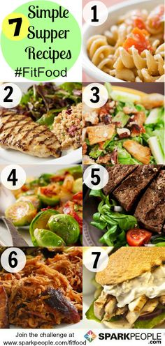 7 Super Healthy Dinner Ideas!