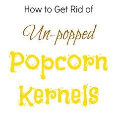 No more broken teeth! Use this tip before you make any caramel popcorn! #popcorn #tip {creationsbykara.com}