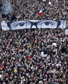 #JeSuisCharlie, Paris