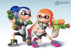 Inkling Girl and Boy