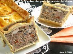 » Terina de porc in crusta de aluatCulorile din Farfurie Banana Bread, Catering, French Toast, Appetizers, Food And Drink, Snacks, Breakfast, Desserts, Mai