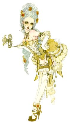 "Rococo ""Marie"" by manga artist Sakizou."