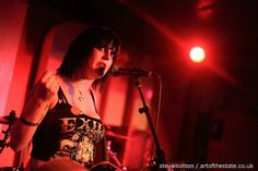 Louise Distras at the 100 Club