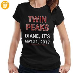 Twin Peaks Diane Its 2017 Women's T-Shirt (*Partner-Link)