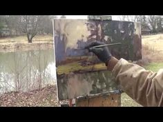 Kyle Buckland Plein Air Landscape Oil Painting Demonstration Art Demo Art - DIY learn to paint art instruction tutorial free art lessons easy Watercolor Paintings Abstract, Watercolor Artists, Watercolor Landscape, Watercolor Illustration, Landscape Paintings, Oil Paintings, Indian Paintings, Abstract Oil, Painting Art