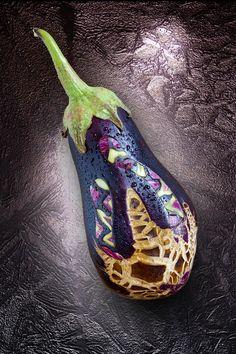 beautiful fruit carving