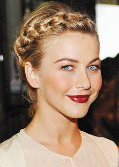 Julianne Hough - rocks the hairband braid