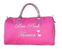 FREE SHIPPING WITHIN THE CONTINENTAL USA   Love Pink Forever Duffle  16.5 x 11 x 8.5 6 DL  Please check out my other listings for a large variety of items...thanks!!  Please allow 5-14 days for shipping. Shipping only within the continental USA. Can...