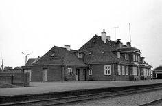 Hirtshals station  --   17. august 1963.