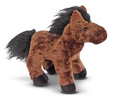 Melissa & Doug - Hayward Horse Soft and Cuddly Cute Stuffed Animals, Dinosaur Stuffed Animal, Animals For Kids, Farm Animals, Plush Horse, Toy Barn, Farm Toys, Baby Horses, Melissa & Doug