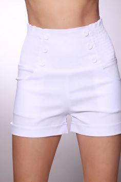 high waist shorts(: