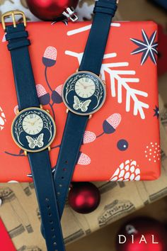 Spread your style wings and add the captivating, artist-designed Butterfly Watch from Dial to your holiday gift-giving wish list! This modern accessory is the perfect gift idea for her, and it pairs perfectly with any outfit!