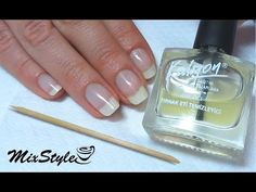 Европейский (необрезной) маникюр от MixStyleCappuccino - YouTube Perfume Bottles, Nail Polish, Nails, Beauty, Woman, Youtube, Manicure, Finger Nails, Ongles