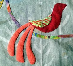 Kerry Stitch Designs: First Bird Finished