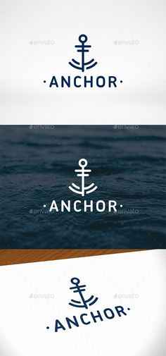 #1 FAVORITE anchor design. I like the modern look of the way this anchor is created.