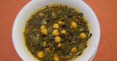 I lived with a lady from Iraq years ago who cooked me this dish and it was beautiful. Been trying to find the recipe ever since. Here it is... The Iraqi Family Cookbook: Spinach with Chickpeas Stew