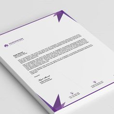 Professional Letterhead Templates Glamorous 30 Creative And Professional Letterhead Designs For Your Inspiration .