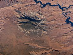 Satellite Photo. Navajo Mountain, Utah
