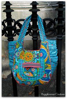 """Medium Beach Bag von """"Poggibonssi Couture"""""""