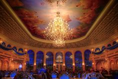Be Our Guest Restaurant Ballroom