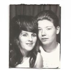 "Vintage Snapshot ""Rich & Donna 1966"" Teased Hair Birthmark Zits Photobooth Found Vernacular Photo Social Realism by SunshineVintagePhoto on Etsy https://www.etsy.com/listing/518807359/vintage-snapshot-rich-donna-1966-teased"
