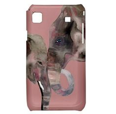 Elephant Samsung Case by Heavenly Creatures Art -- Choose from Galaxy S, Samsung Galaxy S2, Samsung Galaxy S3, Samsung Galaxy Nexus, Samsung Galaxy Note, Samsung Infuse 4G $17.50