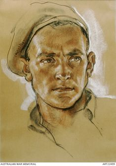 Major George Warfe | Australian War Memorial / Ivor Hele Official War Artist