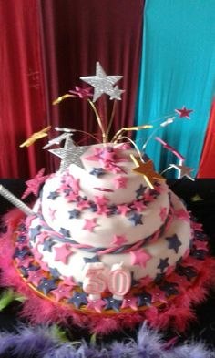 bolo 30 anos Birthday Cake, Desserts, Food, 30 Years, Decorating Cakes, Party, Tailgate Desserts, Deserts, Birthday Cakes