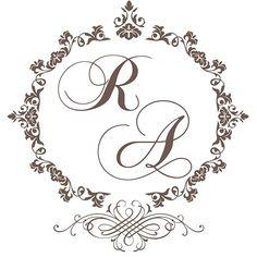 Download | Monogramas gratuitos para o seu casamento | Casando Sem Grana