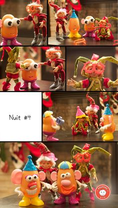 chasse_aux_lutins_nuit_4 Elf On The Shelf, Noel Christmas, Christmas Ornaments, Merry Xmas, Wonderful Time, Elves, Creations, Holiday Decor, Party